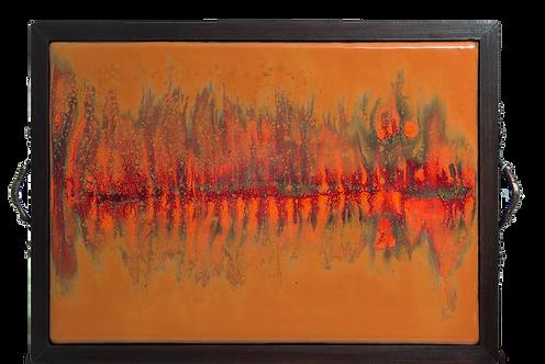CHEESEBOARD: FIRE REFLECTION