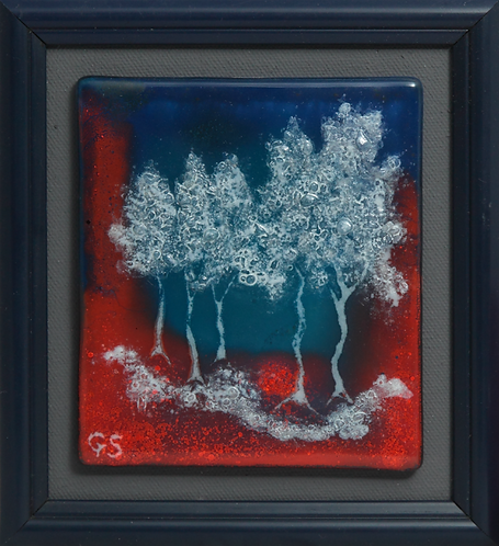 ABSTRACT FOREST (NIGHT)