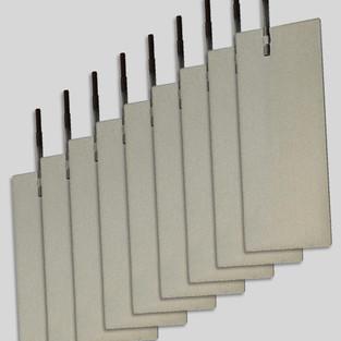 Platinum-Coated Titanium Plates