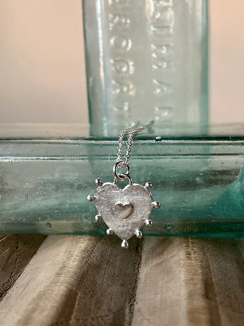 Heartsease necklace