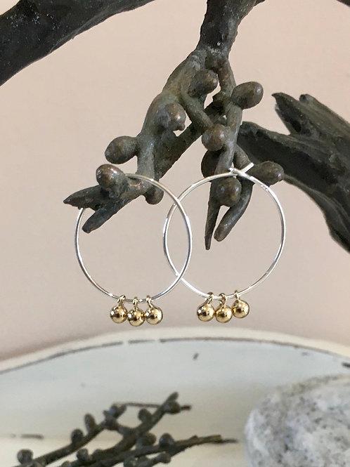 Nigella hoops (large)