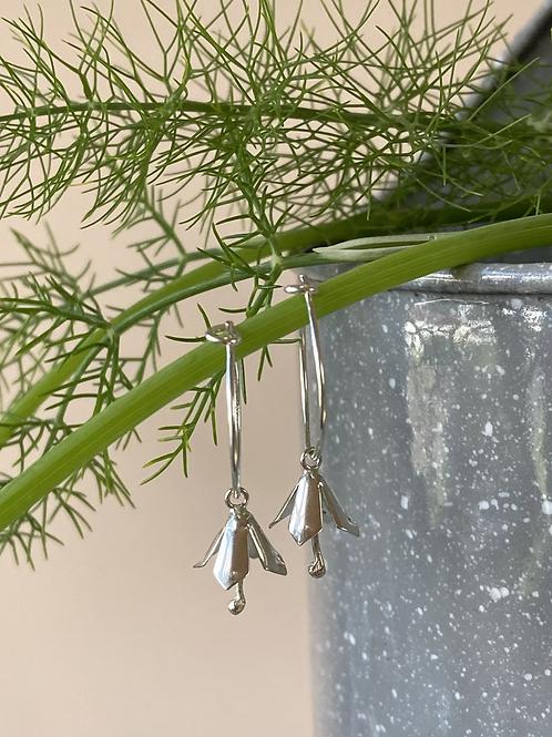 Fuchsia hoops