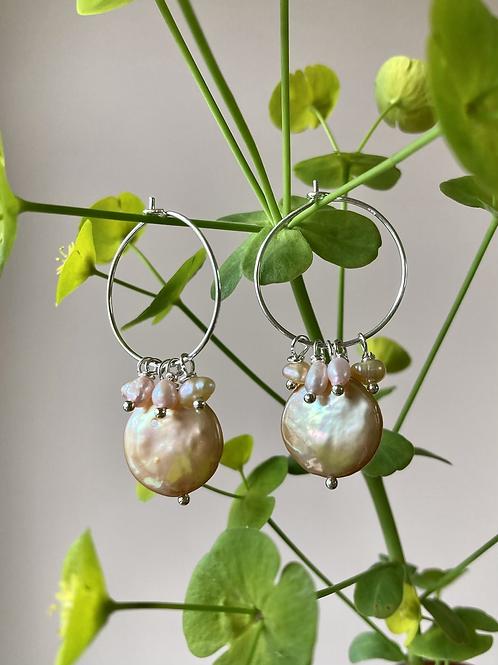 Geranium hoops