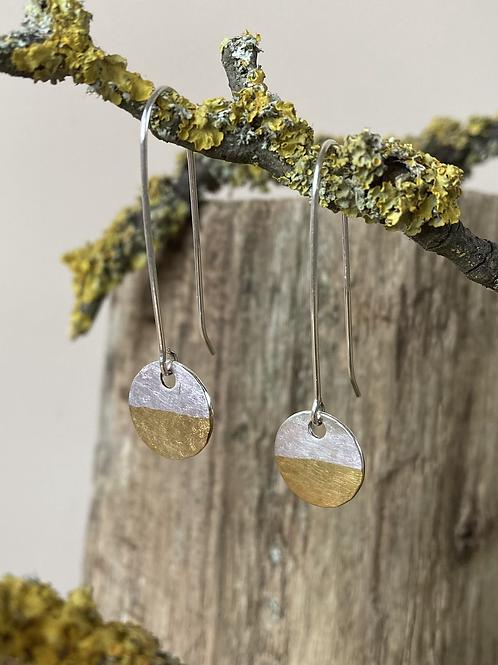 Ombre drop earrings