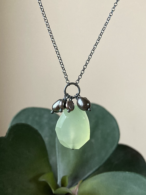 Lady's Mantle necklace