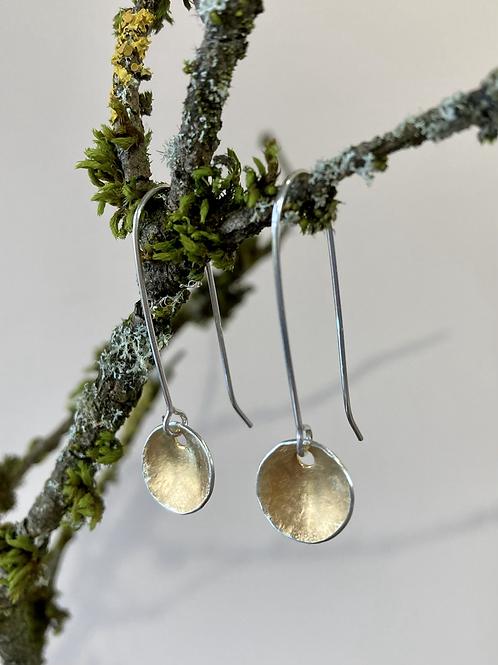 Marigold earrings (long)