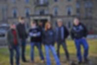 SyFy Channel's Ghost Hunters Academy season 2 cast. Michelle Tate, Adam Berry, Brett McGinnis, Rosalyn Bown, Vera Martinez, Dan Hwang, Eric Baldino, Natalie Poole (not pictured)