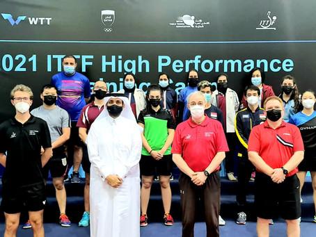 المعسكر التدريبي الدولي المتقدم في قطر