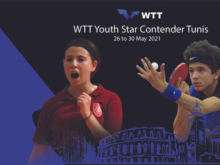 تحتضن تونس بطولة ال WTT Star Contender Youth لنجوم الناشئين والشباب