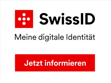 SwissID – meine digitale Identität.