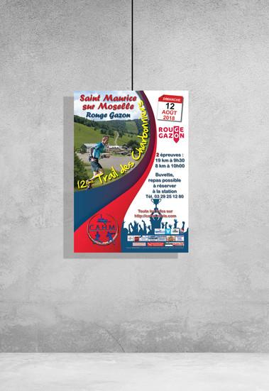 Affiches A3 - Trail des Charbonniers