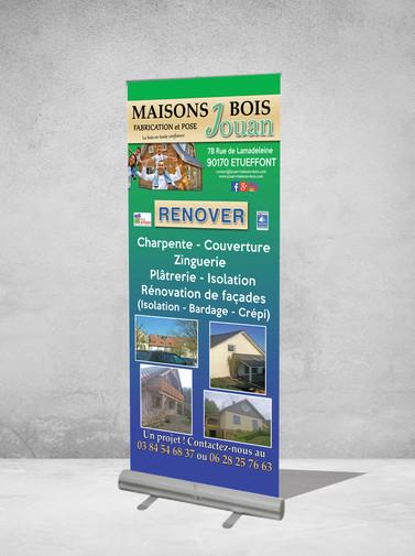 Roll-up - Maisons Bois Jouan