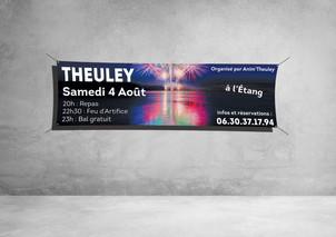 Banderole 300x100cm - Anim'Theuley
