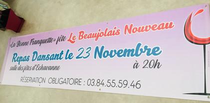 Banderole 3 x 0,80 - La Bonne Franquette