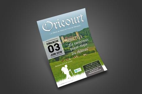 Flyers A5 - Château Mediéval Oricourt