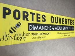 Banderole 3x 0,8m - Le rucher du Magny.J