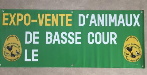 Banderole 200 x 80 - Salon Basse Court P