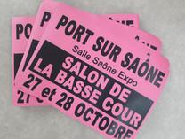 Affiches A3 - Salon de la Basse-Cour