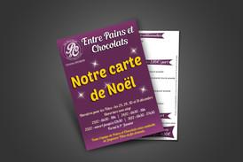 Flyers A5 - Entre Pains et Chocolats