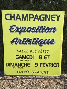 Banderole 1,80 x 2 m - Mairie de Champag