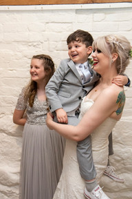fun wedding curradine barns