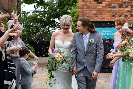 curradine barns confetti photo