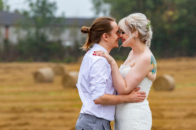 curradine barns wedding couple