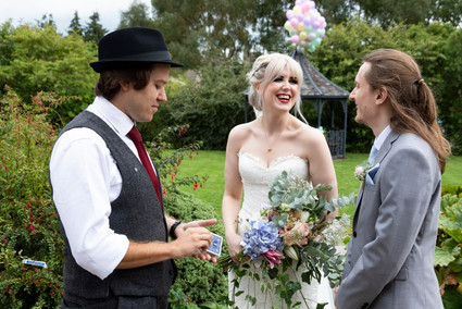 wedding magician curradine barns
