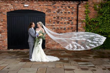 curradine barns bride groom wedding photo