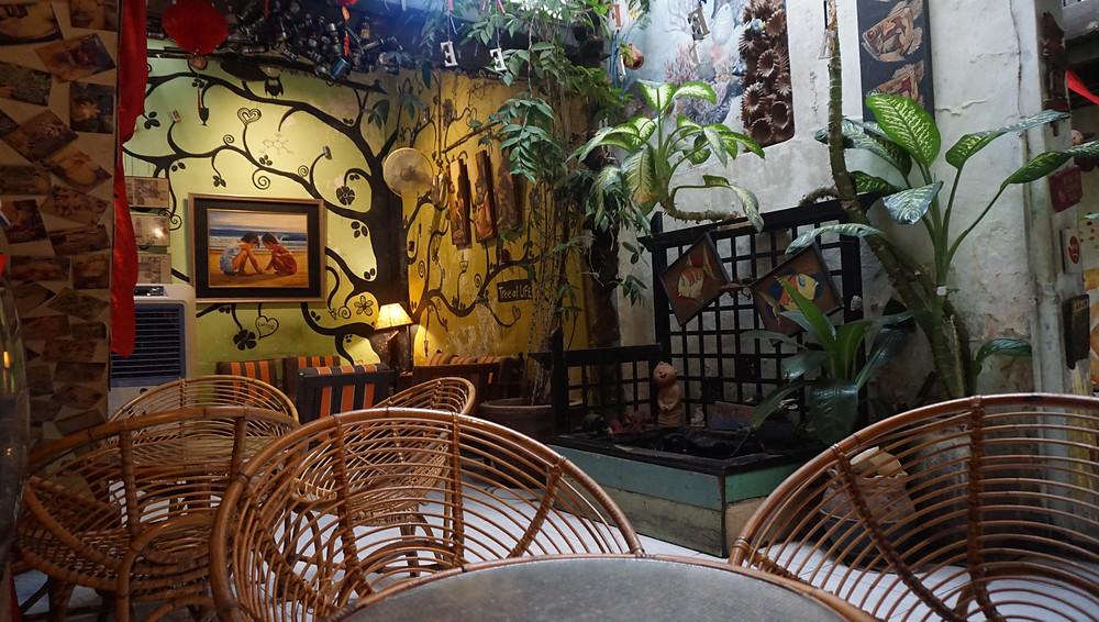 Vintage Cafe Art Coffee Rotan