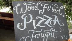 CIMAJA SQUARE, restoran review : Dapoer Koening, Pizza night party with real pizza