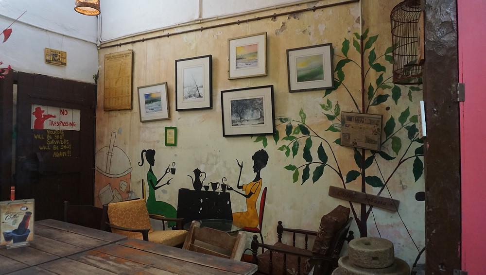 Calanthe Art cafe Coffee kopi jalan-jalan Malaka