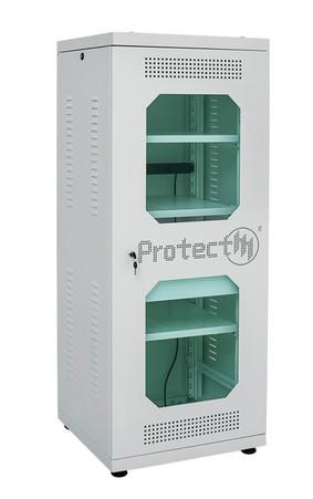 Rack de Piso19 32U Frente Branco Desmontável ProtectM
