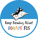 Keep Reading Alive Donate 25 V3 dot  but