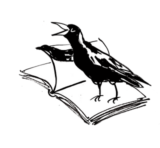 magpie with book.png