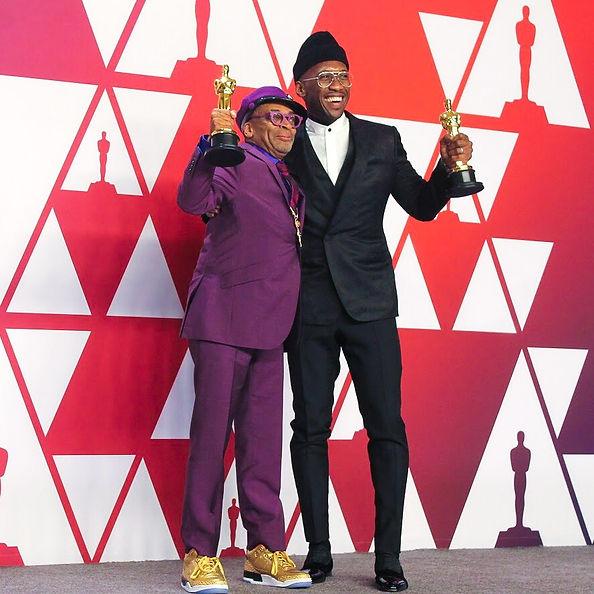 Oscars 2019, Spike Lee and Mahershala Al