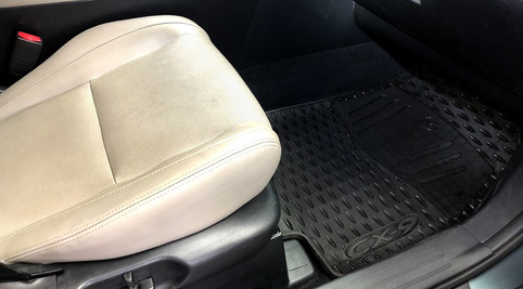 Detailed Passenger Side Floor and Seat