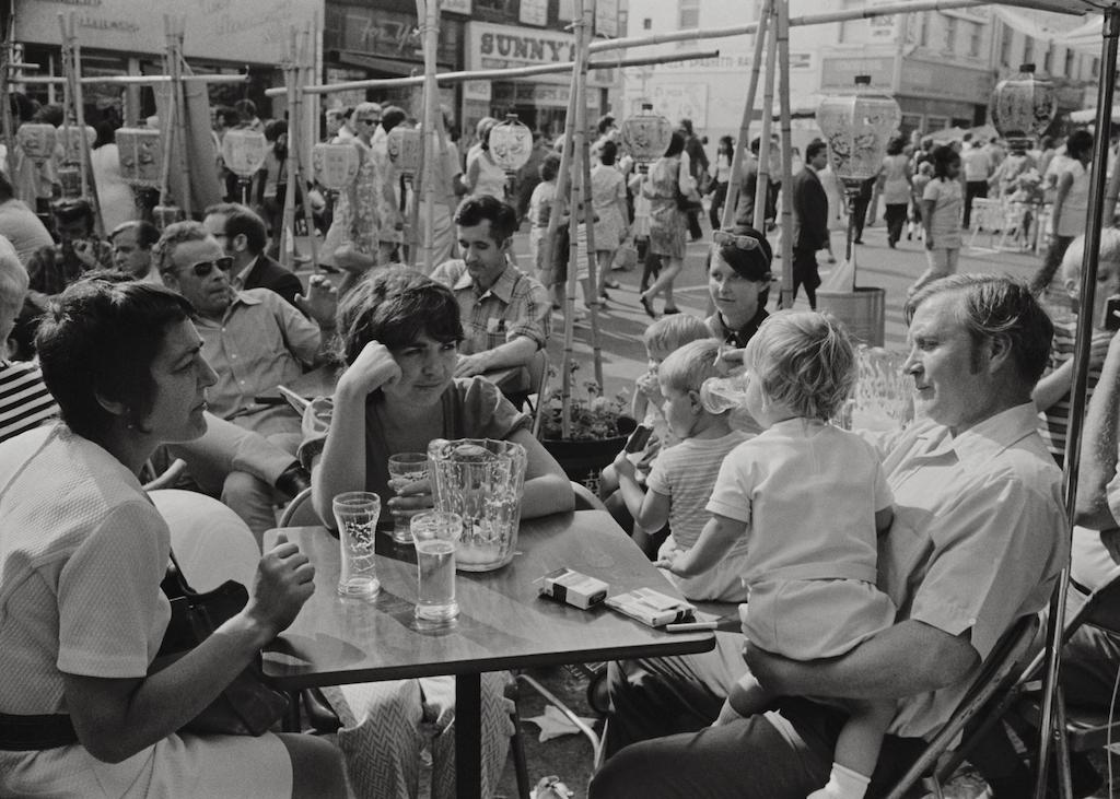19. Patio Scene, Yonge St., Toronto 1971