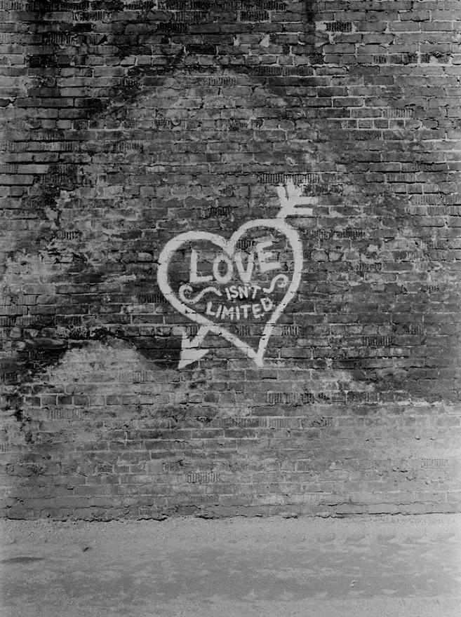 36. Writing on the Wall, Toronto 1971