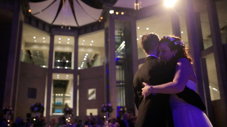 Miranda & Charles Wedding Highlights Film in National Gallery of Canada