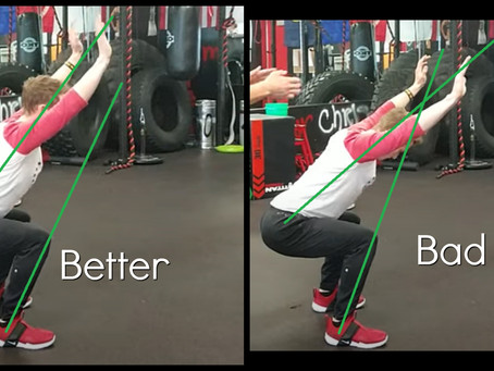 Overhead Squat Assessment: Excessive Forward Lean (Whatever the heck THAT means)