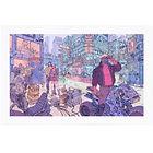 Collection d'Artprints Cyberpunk 2077 par Cook And Becker