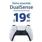 Manette PS5 DualSense à 19.99€ via reprise d'une Manette PS4 Dualshock 4