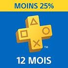 [Non abonnés] Abonnement Playstation Plus - 12 mois