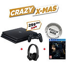 Pack PS4 Pro - 1 To + Casque-Micro sans fil Sony Gold + Death Stranding