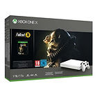 Pack Xbox One X 1 To Edition Limitée Robot White + Fallout 76 + PUBG
