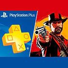 Abonnement de 12 mois au Playstation Plus + 10 Lingots d'or sur Red Dead Online offerts chaque mois