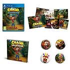 Crash Bandicoot N. Sane Trilogy (Switch / Xbox One / PC / PS4) + artbook + badges + lithographies