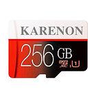 Carte Mémoire MicroSDXC Karenon - 256 Go + Adaptateur SD
