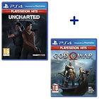 Sélection de packs de jeux PS4 en promotion (ex: Uncharted The Lost Legacy + God of War)
